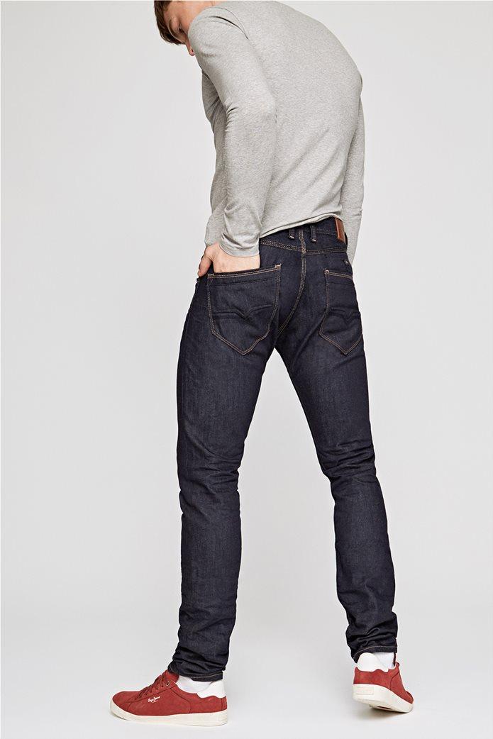 Pepe Jeans ανδρικό τζην παντελόνι μπλε-μαύρο Spike 32 3
