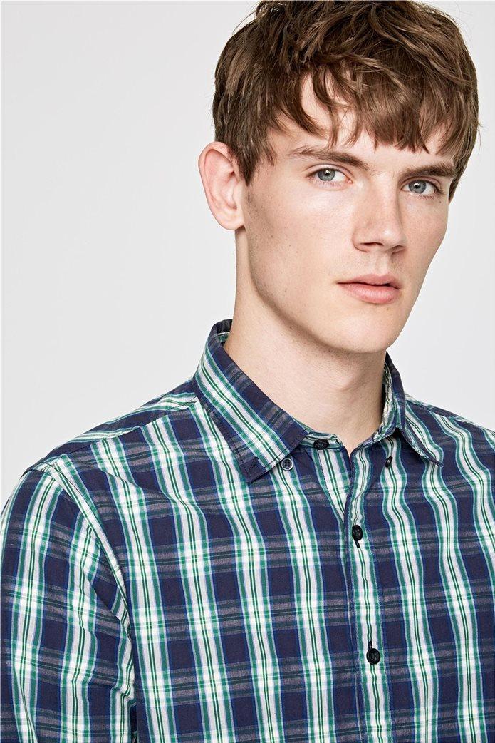 Pepe Jeans ανδρικό καρό πουκάμισο Slim fit Chandler 1