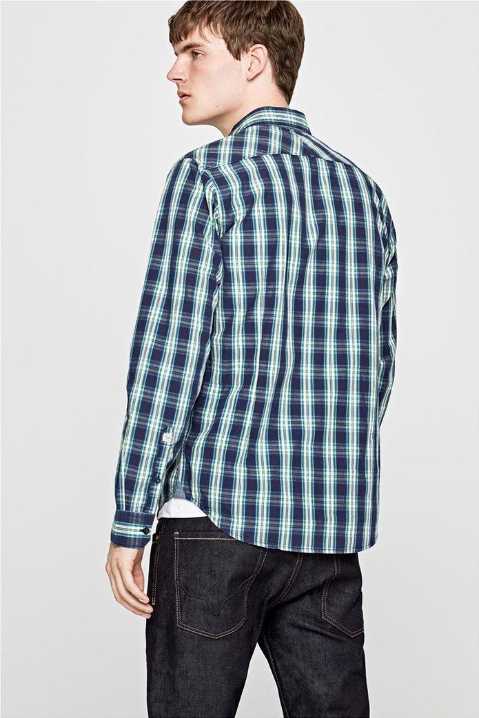Pepe Jeans ανδρικό καρό πουκάμισο Slim fit Chandler 3