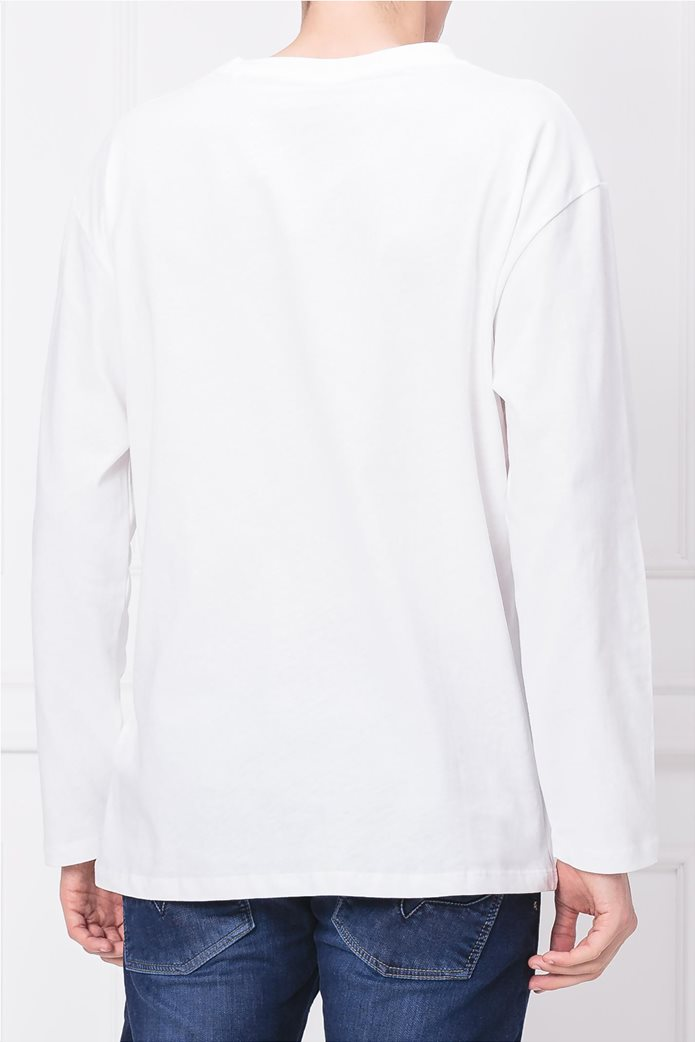 Pepe Jeans ανδρική μακρυμάνικη μπλούζα με στάμπα Jesper 1