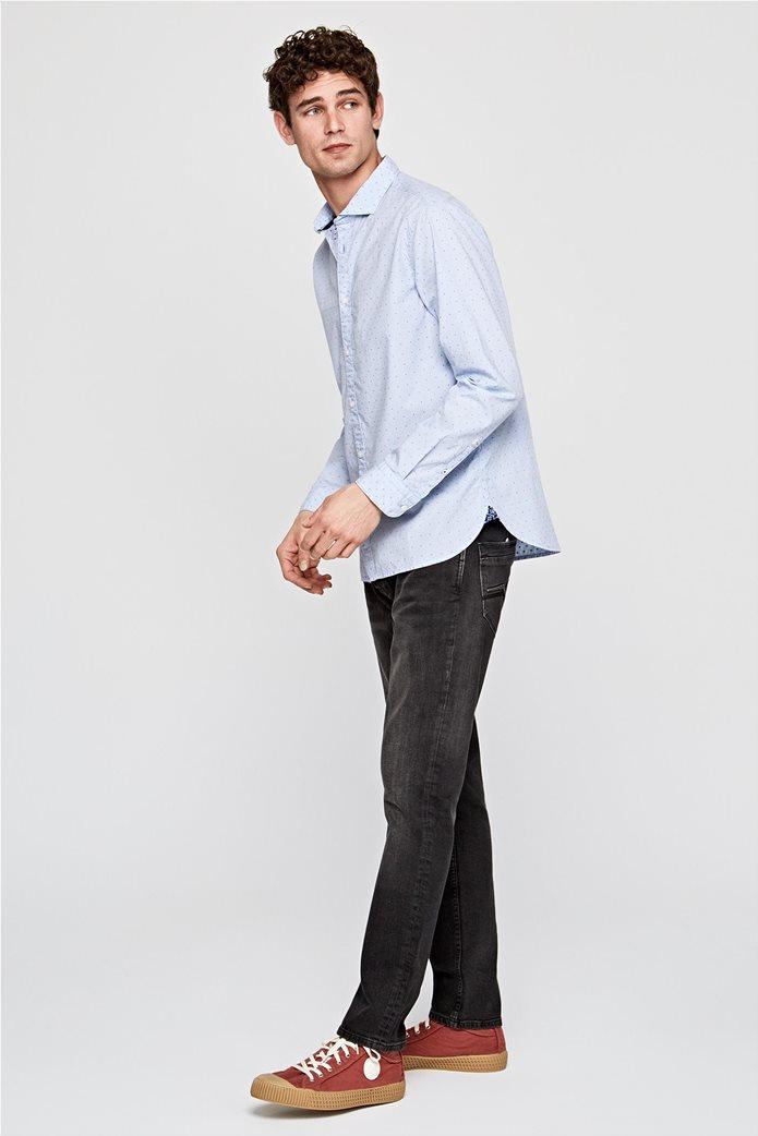 Pepe Jeans ανδρικό πουκάμισο με μικροσχέδιο Slim fit ''Derek'' 1