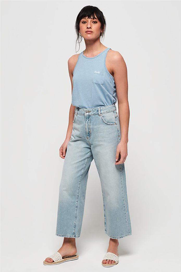 Superdry γυναικεία μπλούζα αμάνικη Orange Label Essential 2