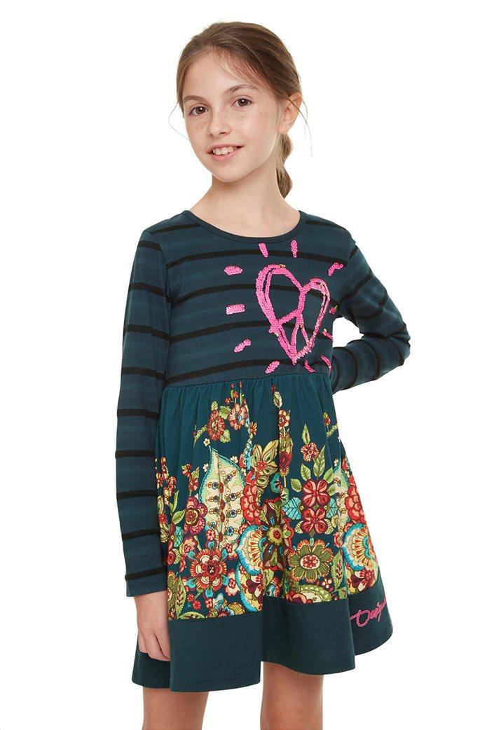 "Desigual παιδικό φόρεμα ""Physalis"" 0"