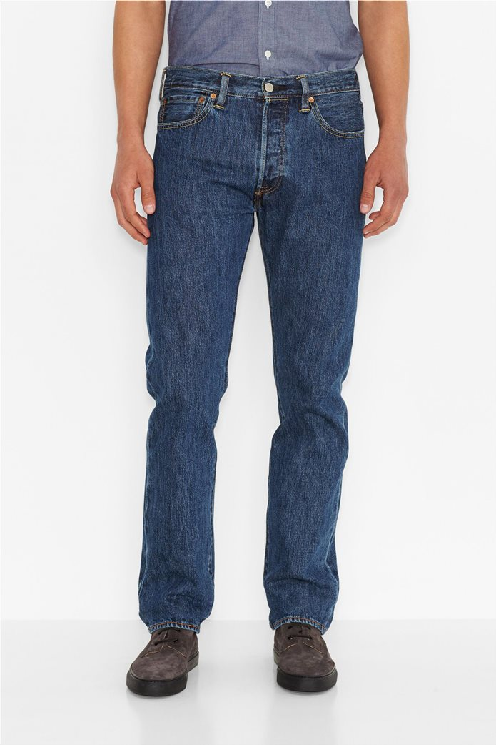 Levi's ανδρικό τζην παντελόνι (36L) 501® Original Fit Μπλε 0