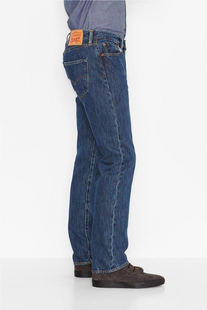Levi's ανδρικό τζην παντελόνι (36L) 501® Original Fit Μπλε 1