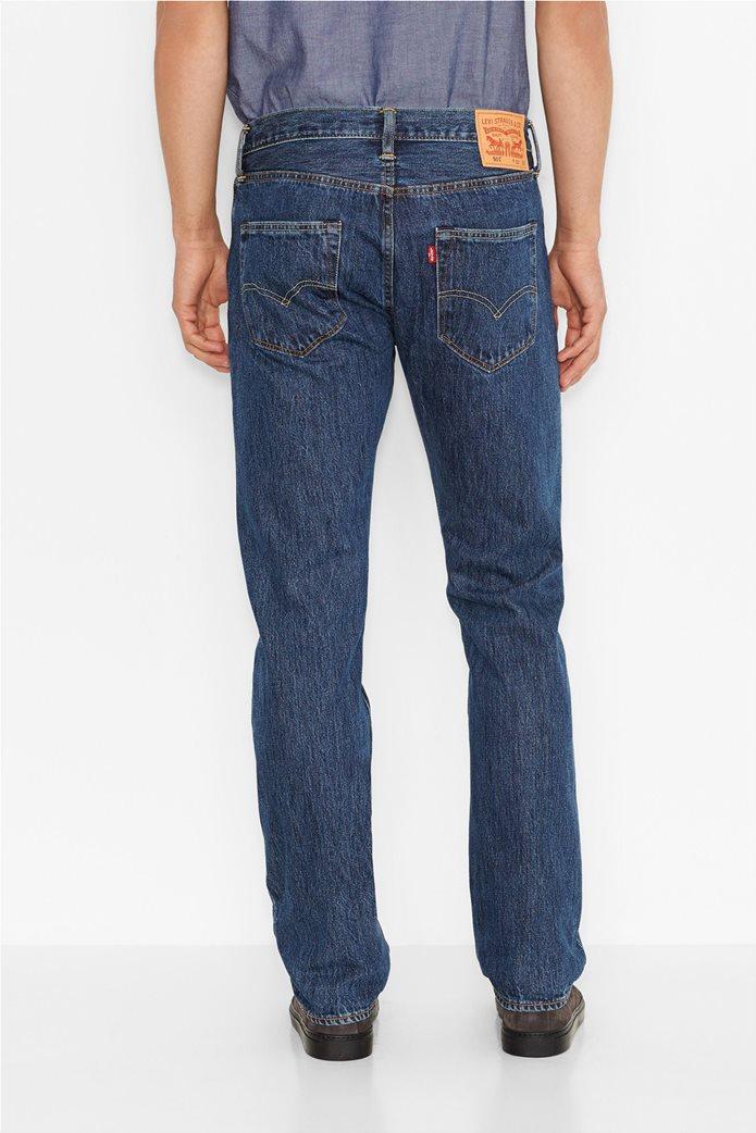 Levi's ανδρικό τζην παντελόνι (36L) 501® Original Fit Μπλε 2