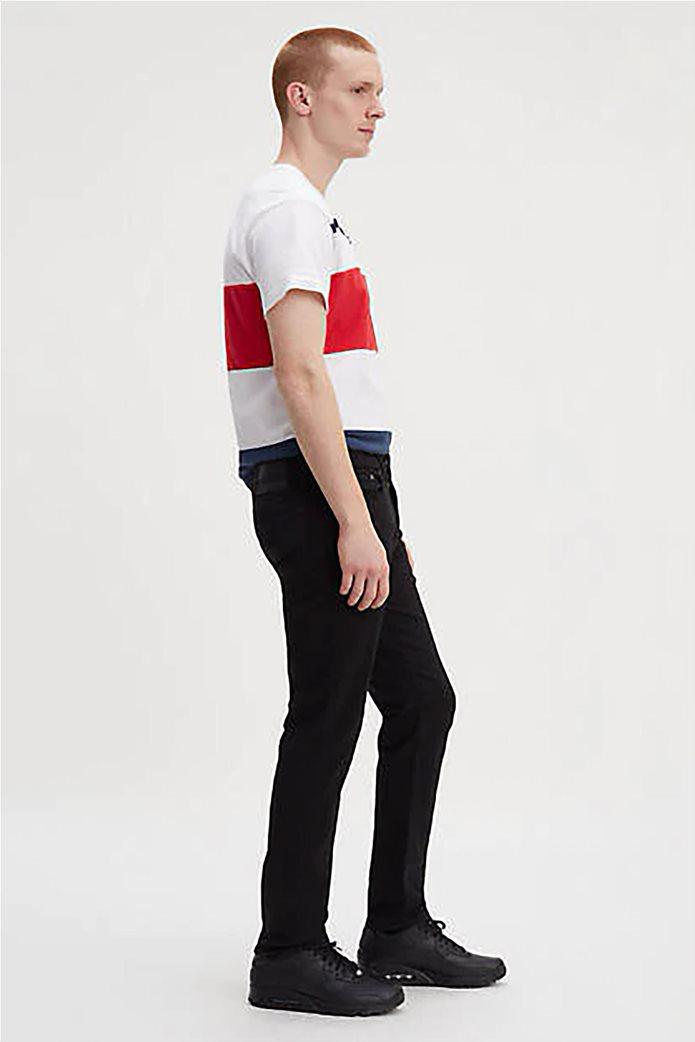 Levi's ανδρικό τζην παντελόνι μαύρο 502™ Regular Taper (34L) Μαύρο 0