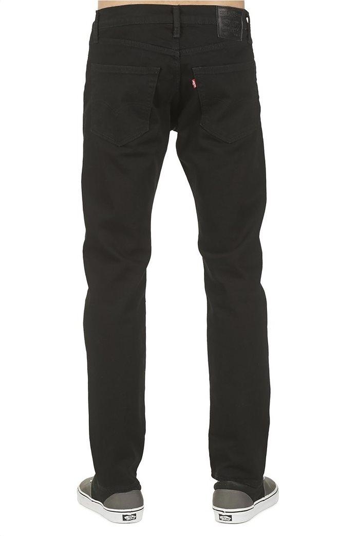 Levi's ανδρικό τζην παντελόνι μαύρο 502™ Regular Taper (34L) Μαύρο 4