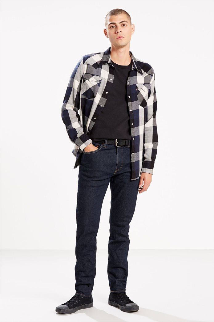 Levi's ανδρικό τζην παντελόνι μπλε σκούρο 512™ Slim Taper Fit (34L) Μπλε Σκούρο 0