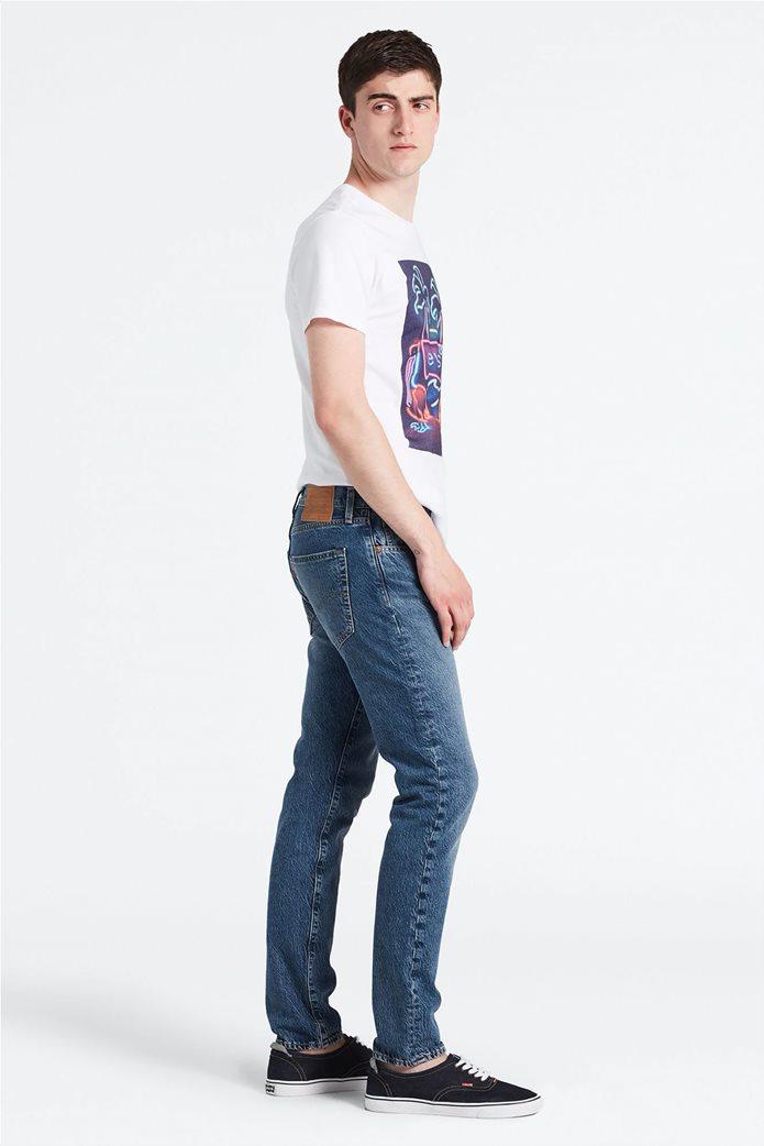 Levi's ανδρικό τζην παντελόνι 512™ Slim Taper Fit (34L) Μπλε Ανοιχτό 0