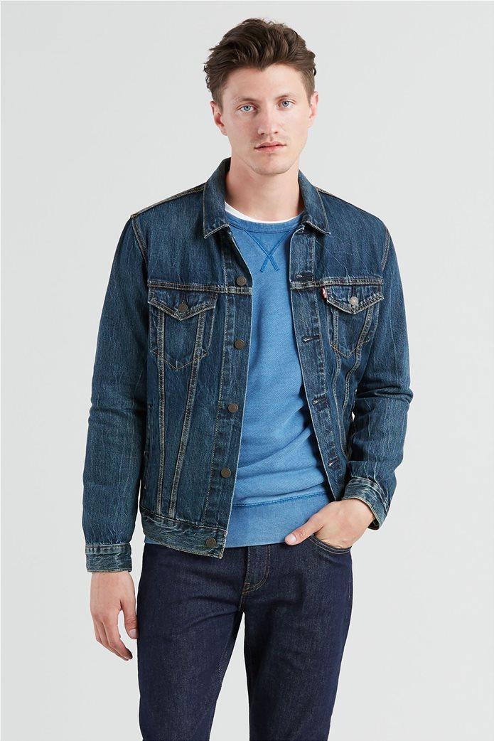"Levi's ανδρικό τζην jacket ""The Trucker"" Μπλε 0"
