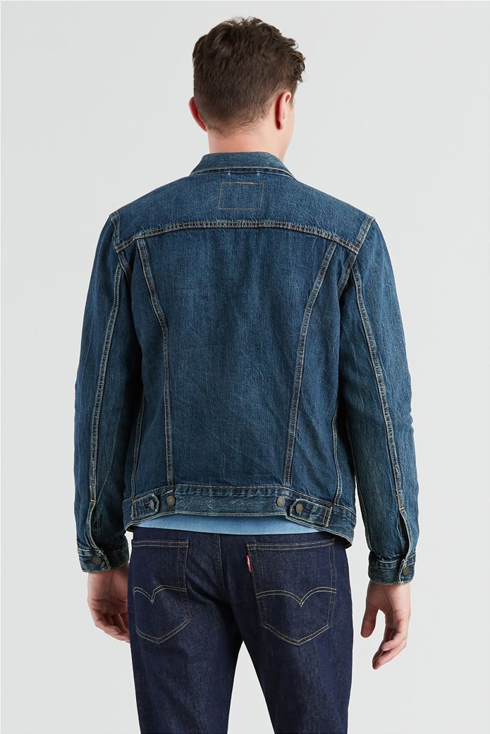 "Levi's ανδρικό τζην jacket ""The Trucker"" Μπλε 1"