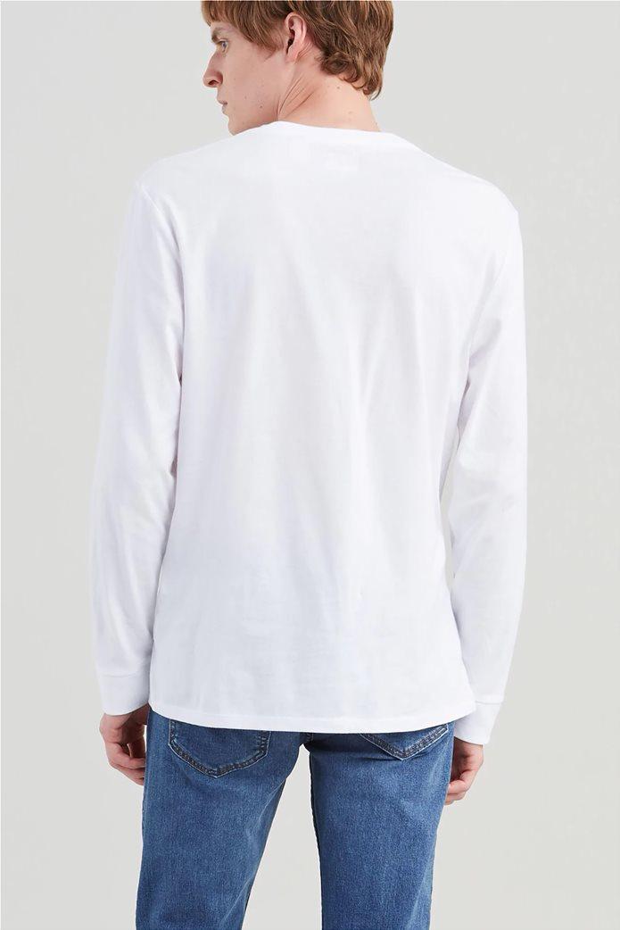 Levi's ανδρική μακρυμάνικη μπλούζα με κεντημένο λογότυπο 1