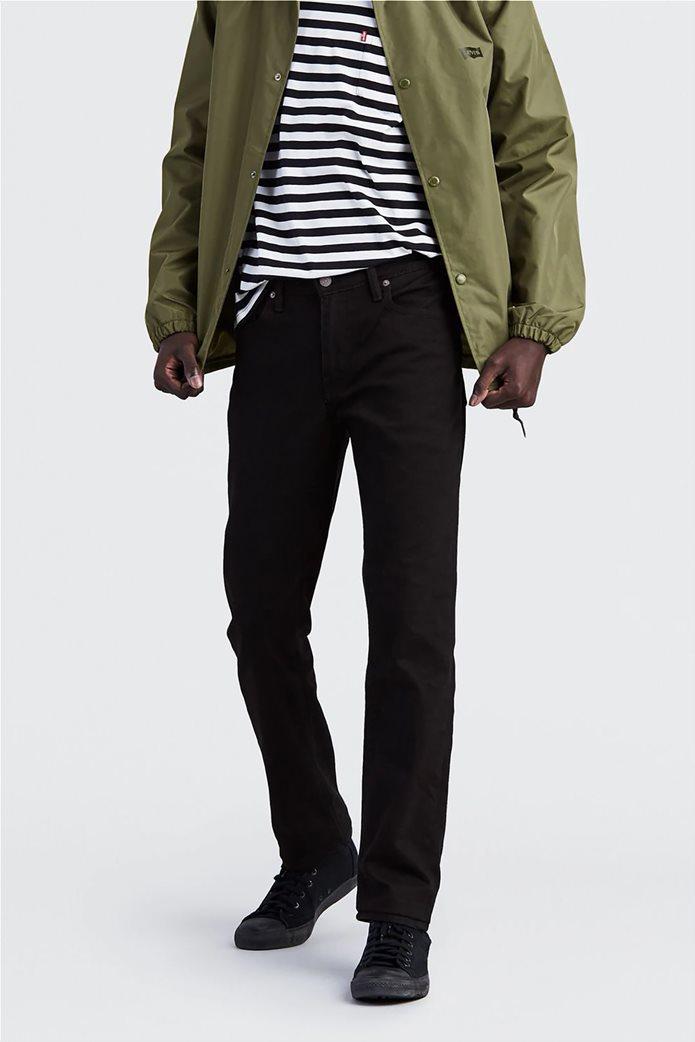 Levi's ανδρικό τζην παντελόνι μαύρο 511™ Slim Fit Nightshine (36L) Μαύρο 0