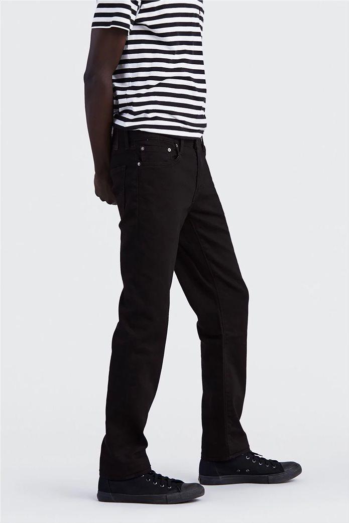 Levi's ανδρικό τζην παντελόνι μαύρο 511™ Slim Fit Nightshine (36L) Μαύρο 1