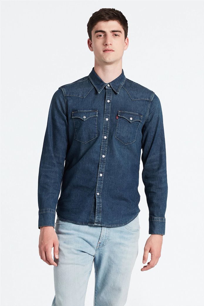 Levi's ανδρικό τζην πουκάμισο Barstow Wester Hemd 0