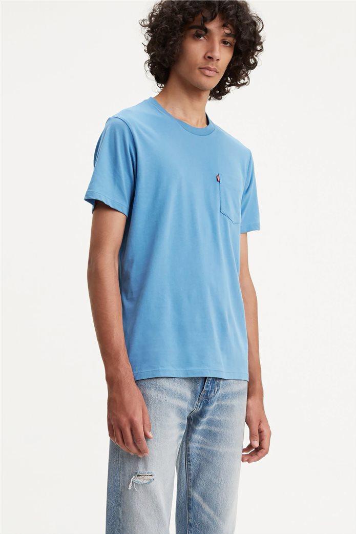 Levi's ανδρικό T-shirt με τσέπη 0