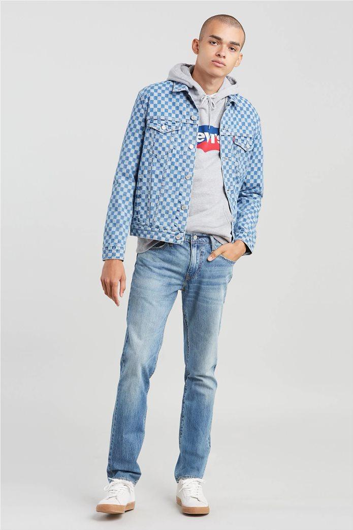Levi's ανδρικό τζην παντελόνι 511™ Slim Fit (34L) Μπλε Ανοιχτό 0