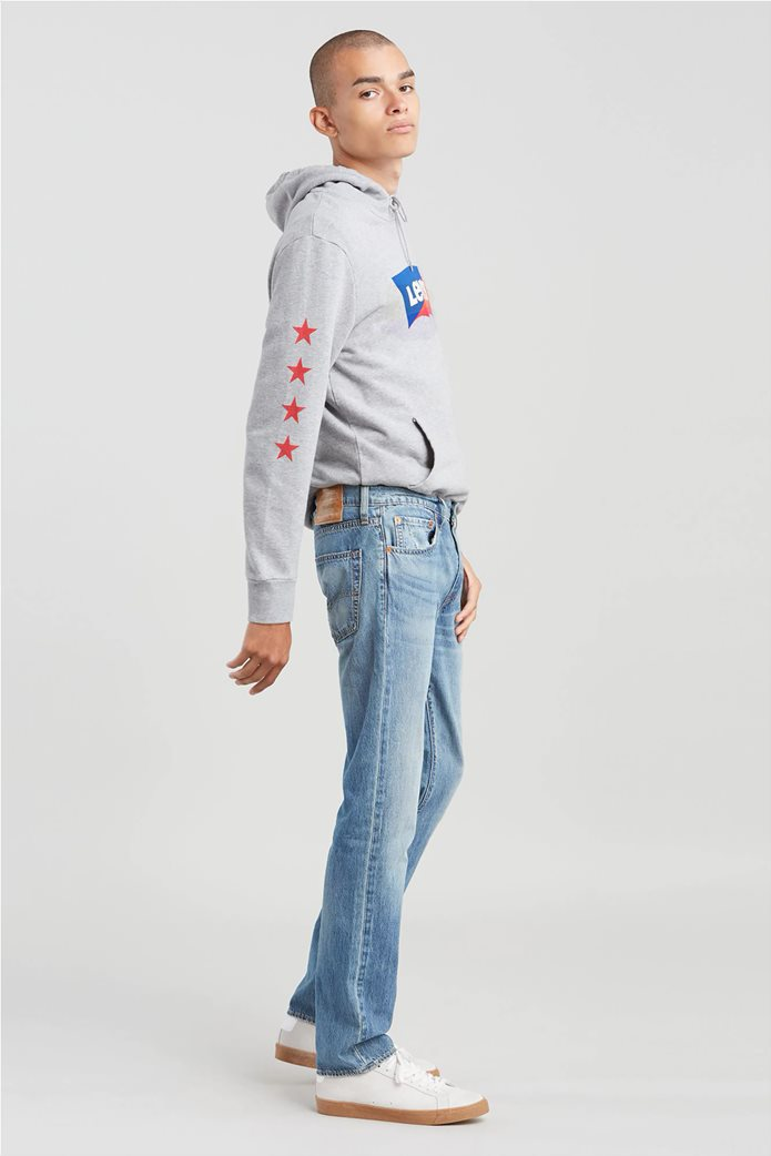 Levi's ανδρικό τζην παντελόνι 511™ Slim Fit (34L) Μπλε Ανοιχτό 1