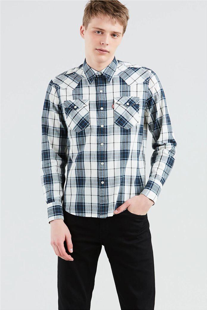 Levi's ανδρικό πουκάμισο καρό Barstow Western 0