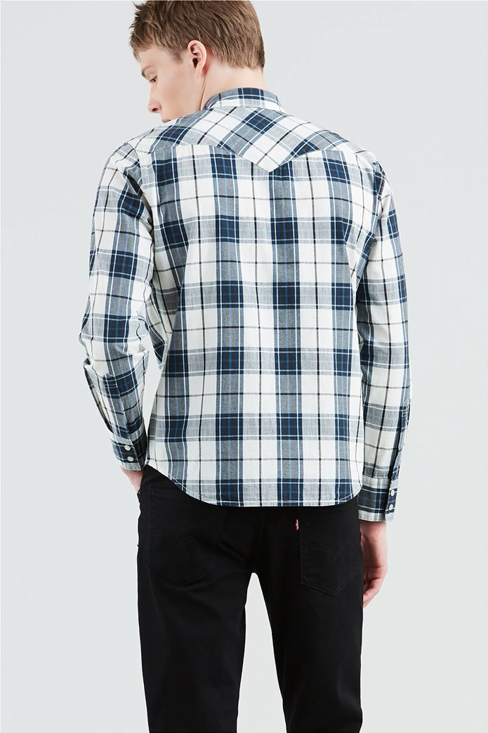 Levi's ανδρικό πουκάμισο καρό Barstow Western 1