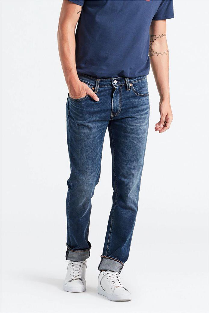 Levi's ανδρικό τζην παντελόνι 511™ Slim Fit (34L) Μπλε Σκούρο 0