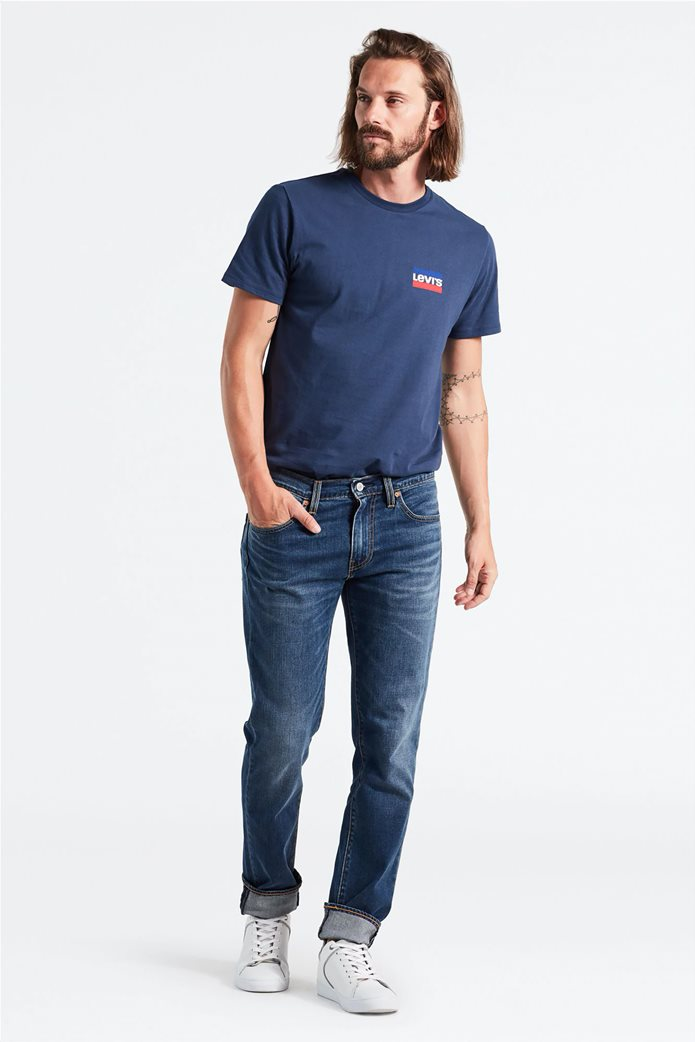 Levi's ανδρικό τζην παντελόνι 511™ Slim Fit (34L) Μπλε Σκούρο 2