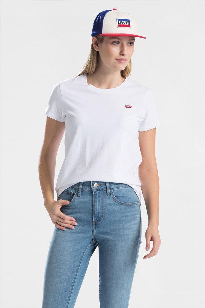 Levi's Perfect Tee γυναικείο T-shirt Λευκό 0