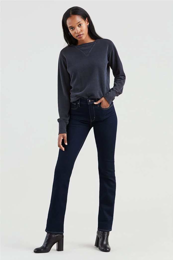 Levi's γυναικείο τζην παντελόνι 724 High Rise Straight (32L) 1