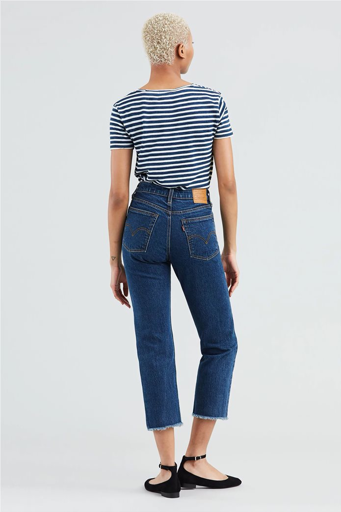Levi's γυναικείο τζην παντελόνι Wedgie High Waist Ankle Straight Leg Jeans 26L 1