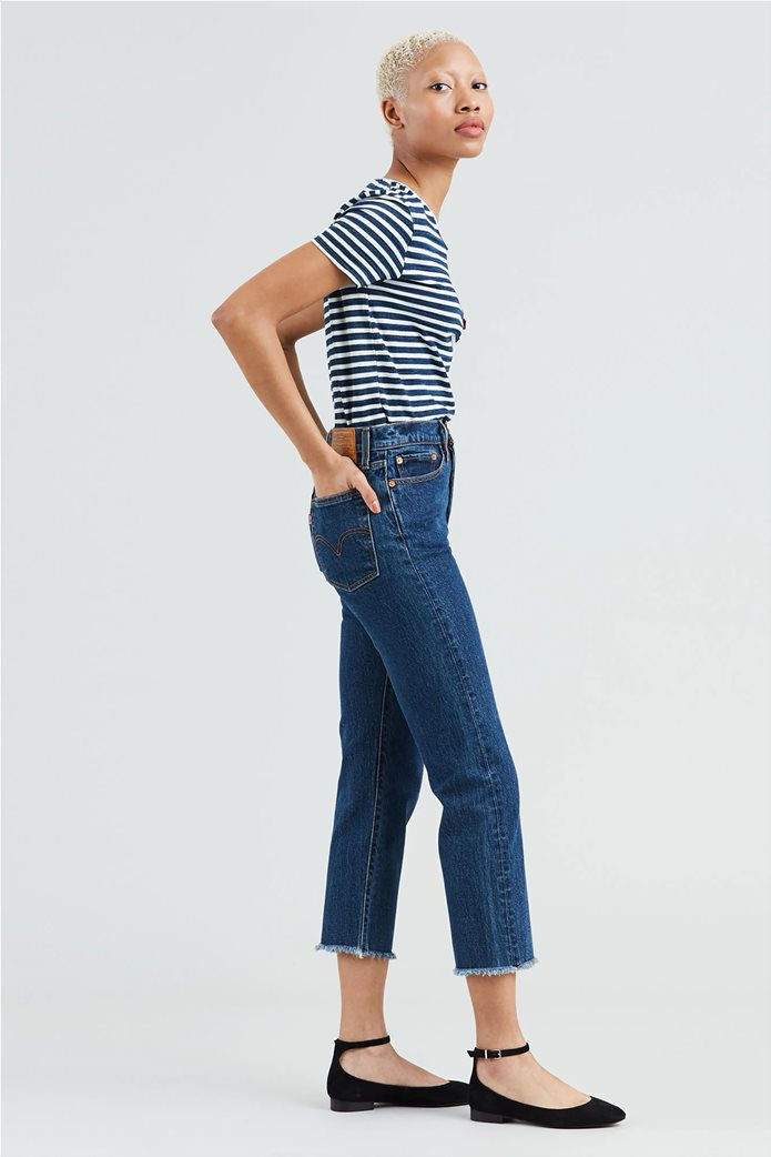 Levi's γυναικείο τζην παντελόνι Wedgie High Waist Ankle Straight Leg Jeans 26L 2