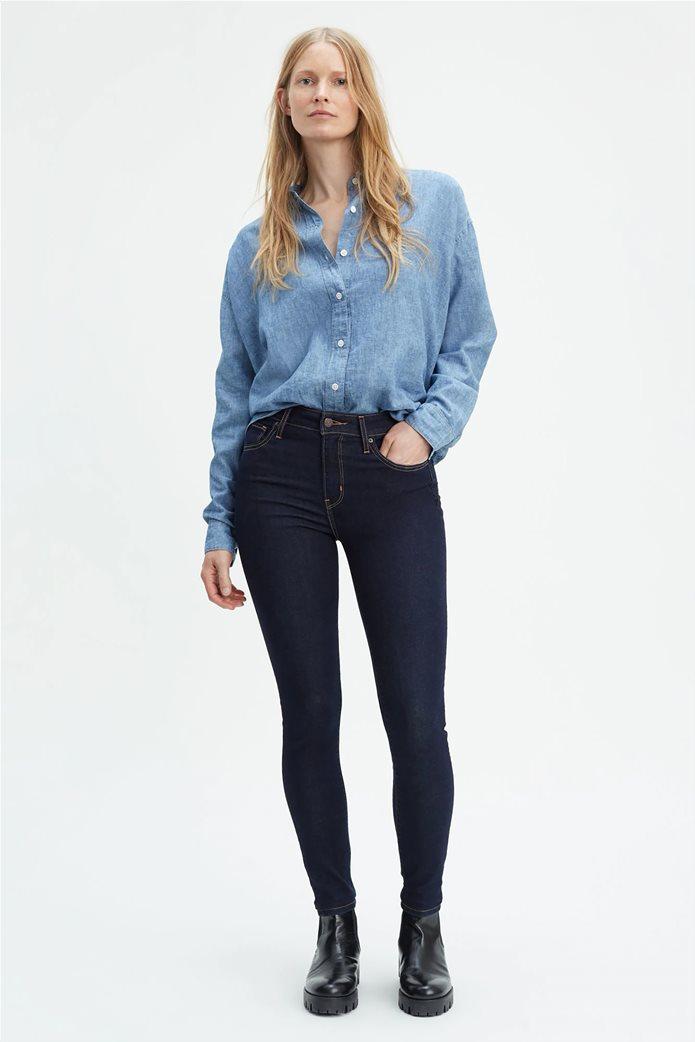 Levi's γυναικείο τζην παντελόνι 721 High Rise Skinny Jeans (30L) 0
