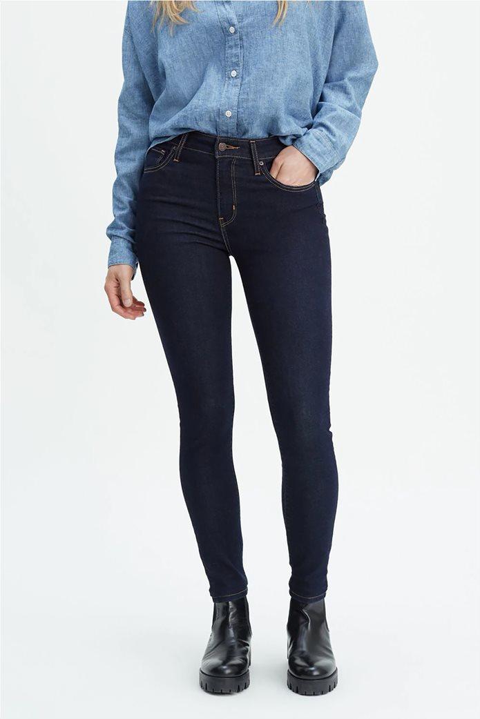 Levi's γυναικείο τζην παντελόνι 721 High Rise Skinny Jeans (32L) Μπλε Σκούρο 0