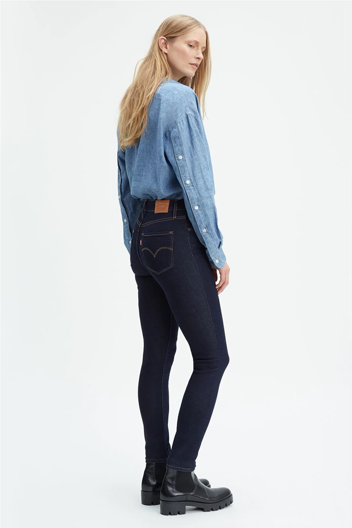 Levi's γυναικείο τζην παντελόνι 721 High Rise Skinny Jeans (32L) Μπλε Σκούρο 1