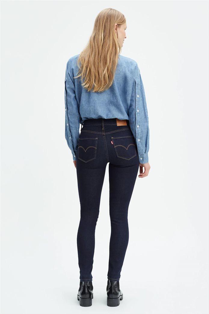 Levi's γυναικείο τζην παντελόνι 721 High Rise Skinny Jeans (32L) Μπλε Σκούρο 2
