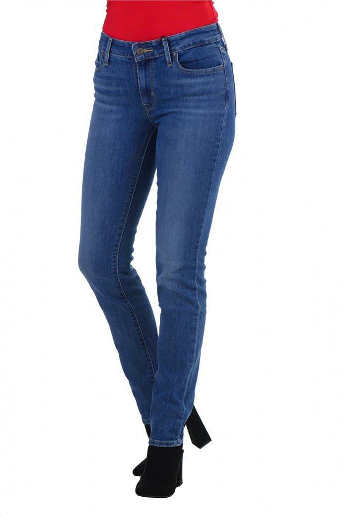 Levi's® γυναικείο τζην παντελόνι 712™ Slim Fit 0