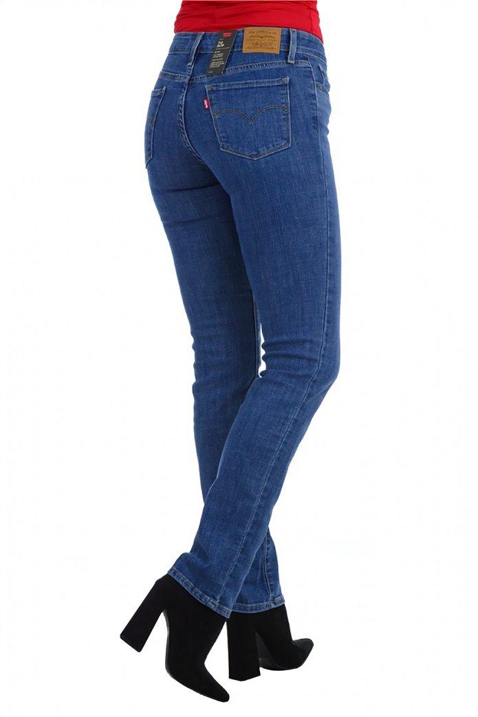 Levi's® γυναικείο τζην παντελόνι 712™ Slim Fit 1
