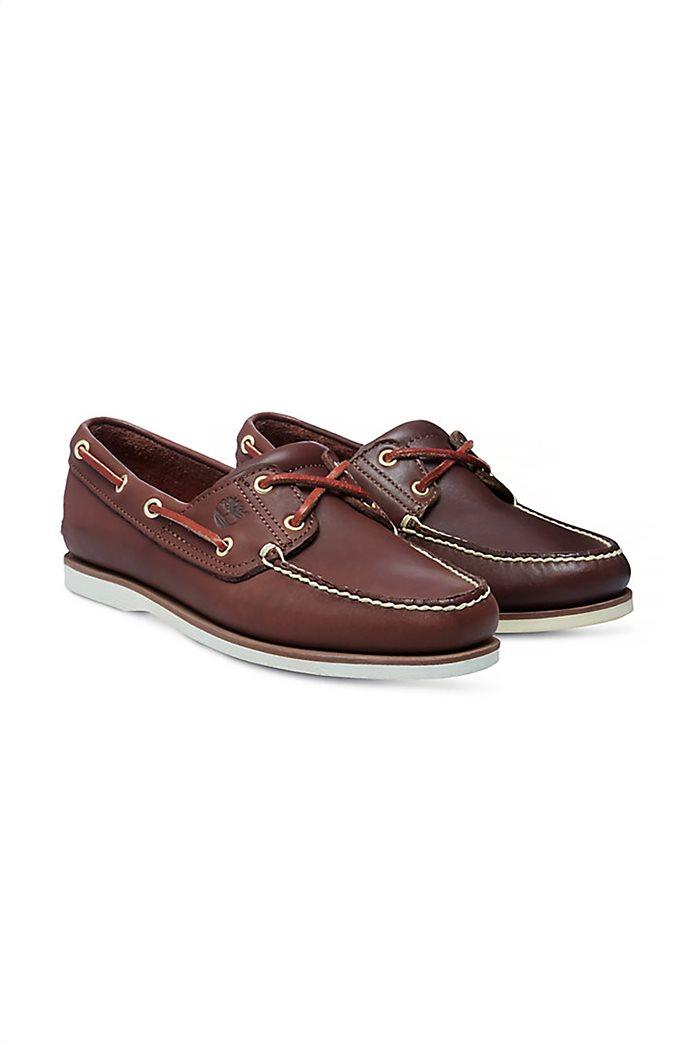Timberland ανδρικά δερμάτινα παπούτσια Classic 2-Eye Boat 1