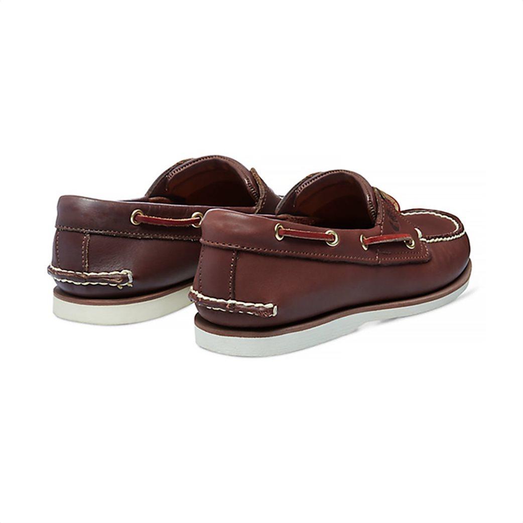 Timberland ανδρικά δερμάτινα παπούτσια Classic 2-Eye Boat 3