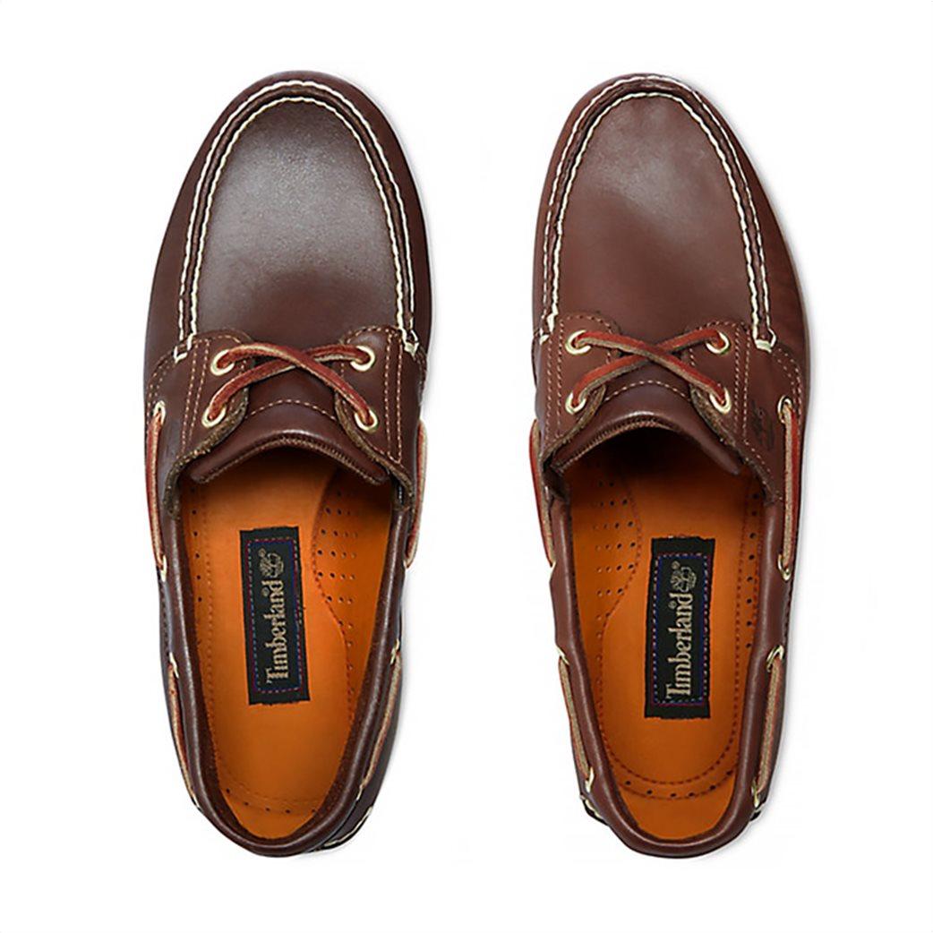 Timberland ανδρικά δερμάτινα παπούτσια Classic 2-Eye Boat 4