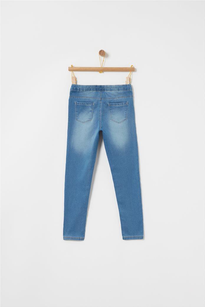 OVS μπλε παιδικό παντελόνι τζηνsuper skinny 1