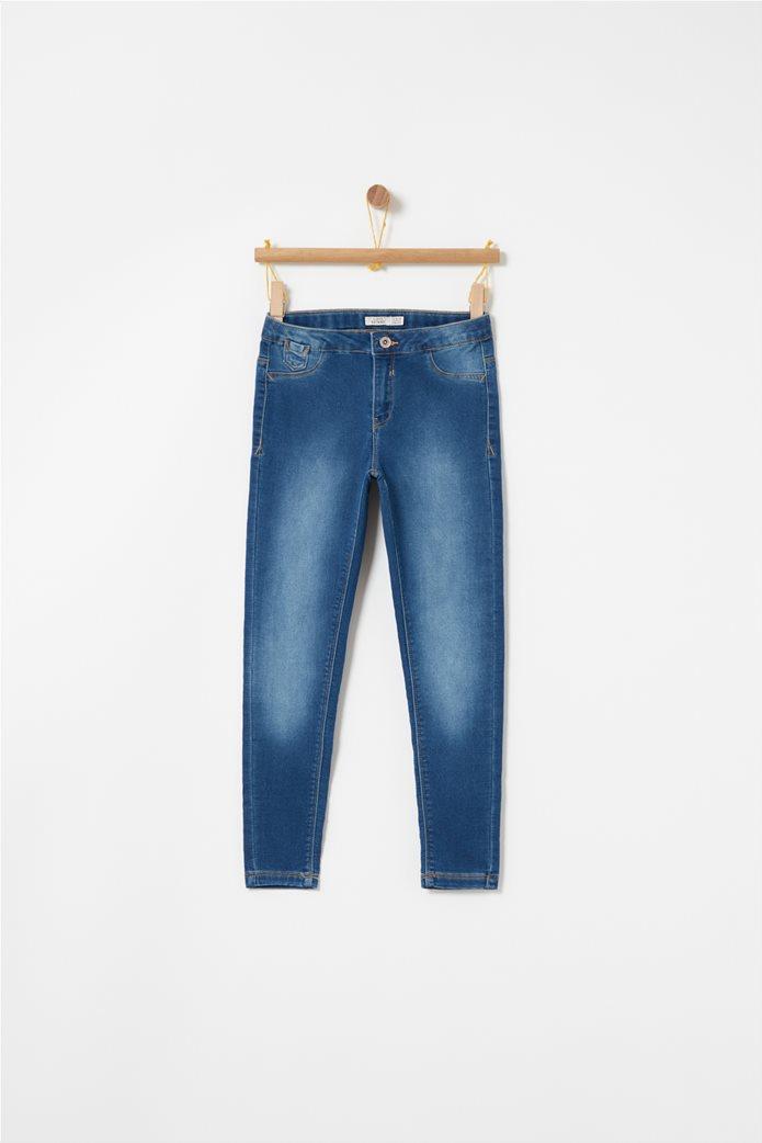 OVS μπλε παιδικό παντελόνι τζην super skinny Μπλε Σκούρο 0