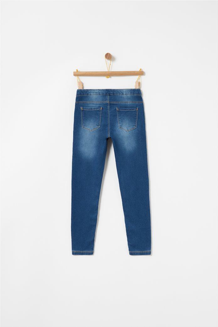 OVS μπλε παιδικό παντελόνι τζην super skinny Μπλε Σκούρο 1