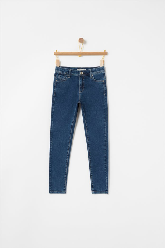 OVS παιδικό παντελόνι τζηνsuper skinny Μπλε Σκούρο 0