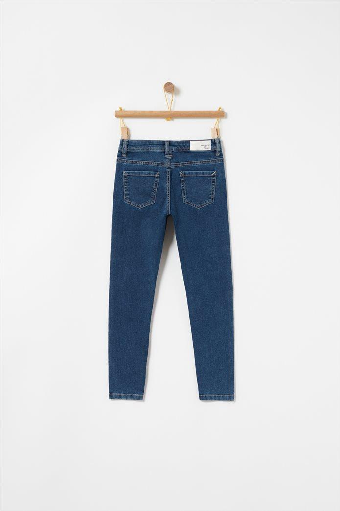 OVS παιδικό παντελόνι τζηνsuper skinny Μπλε Σκούρο 1