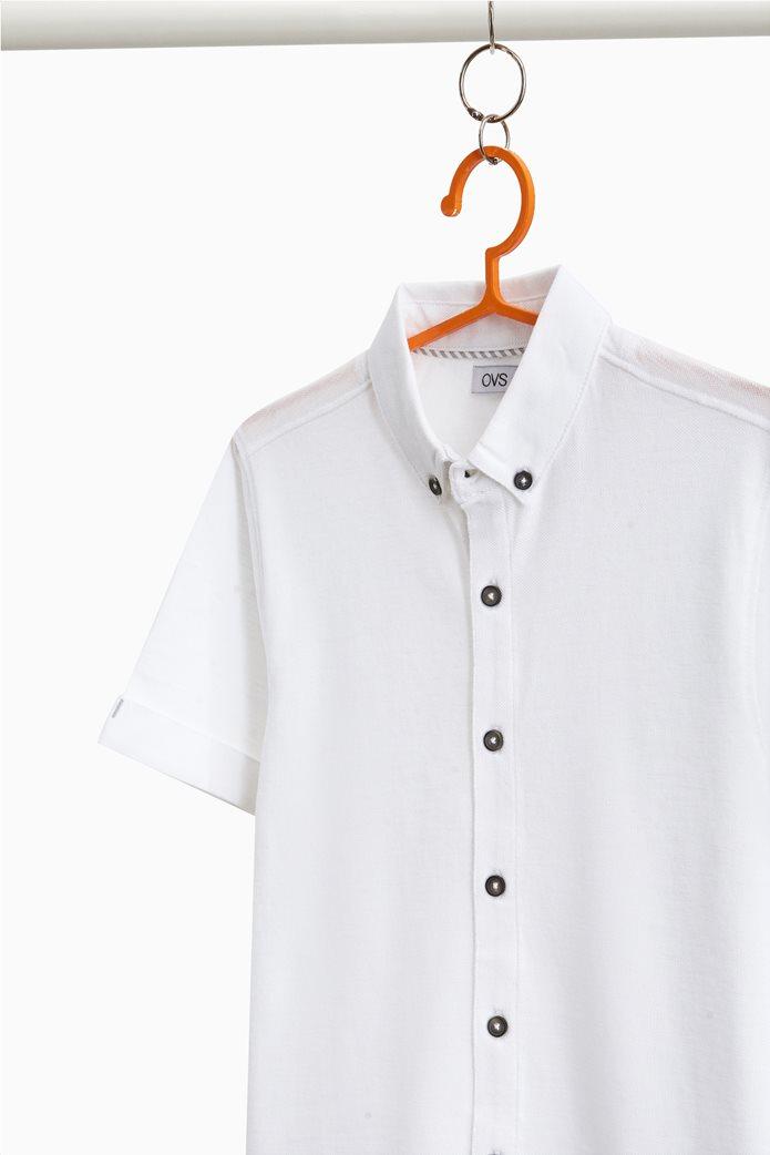 Παιδικό piquet πουκάμισο (9-14 ετών) OVS 1