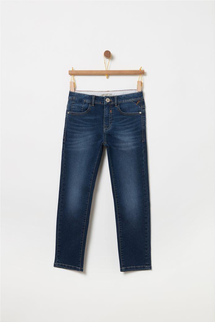 OVS παιδικό τζην παντελόνι σε γραμμήstraight Μπλε Σκούρο 0