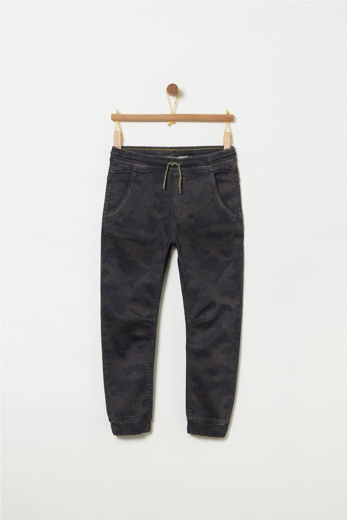 OVS Παιδικόjogger παντελόνι καμουφλάζ με λάστιχο 0