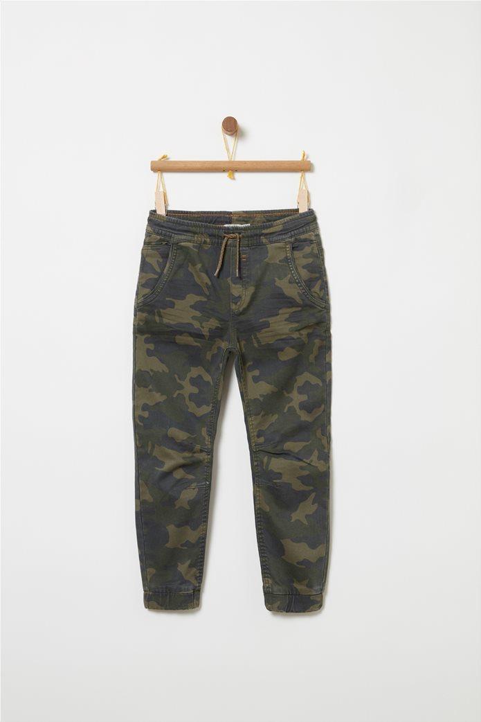 OVS Παιδικόjogger τζην παντελόνι παραλλαγή με λάστιχο 0