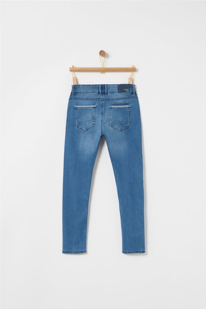 OVS μπλε παιδικό παντελόνι τζην slim fit 1